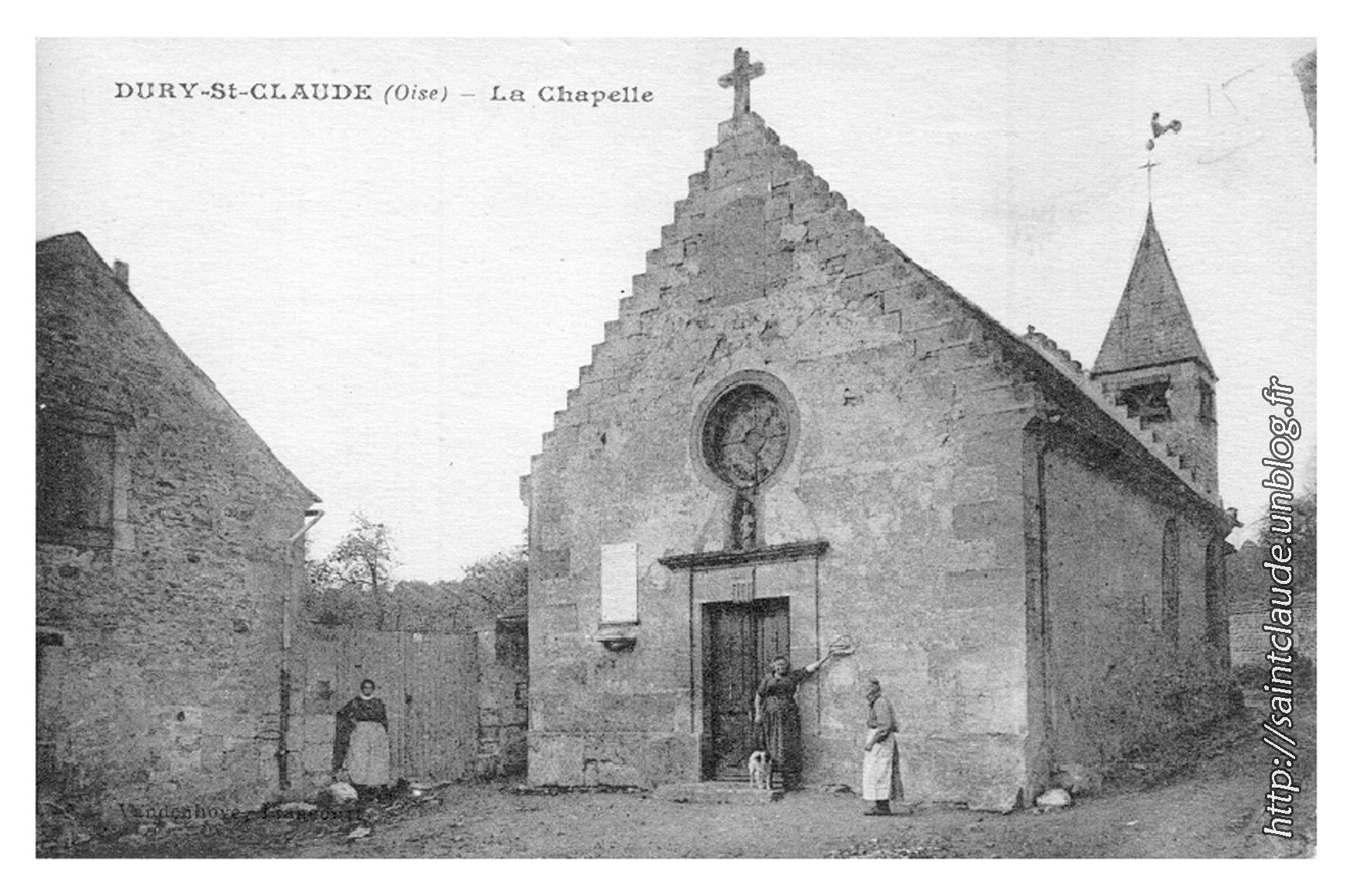 Dury-St-Claude (Oise) - La Chapelle