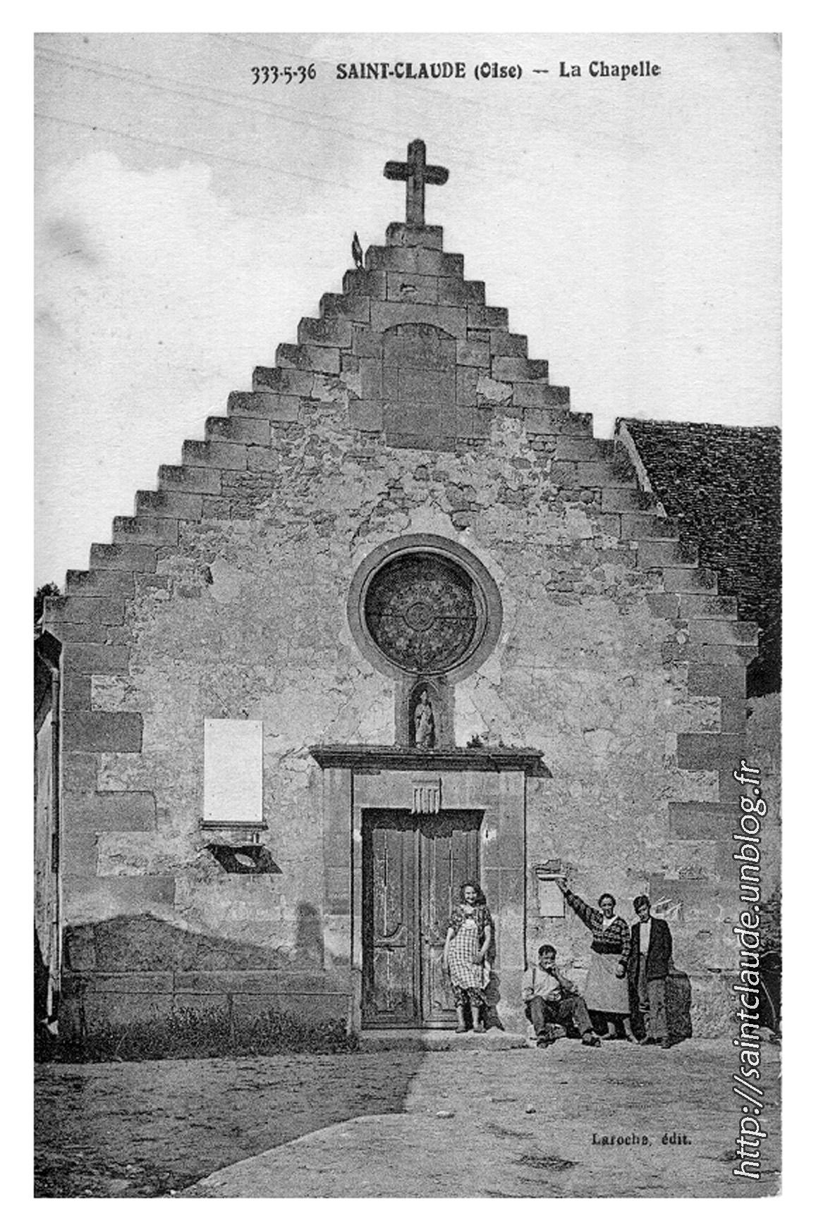 Saint-Claude (Oise) - La Chapelle