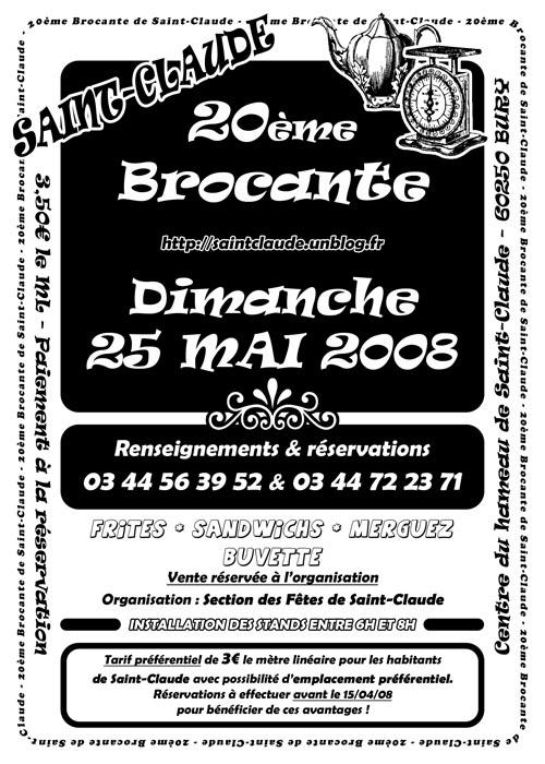 Réservation brocante ! dans Brocante 05250820mebrocanterectoscedition500
